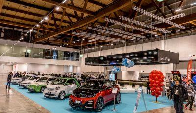 Infomotori.com firma Electric Space a Mondo Motori Show di Vicenza 2018