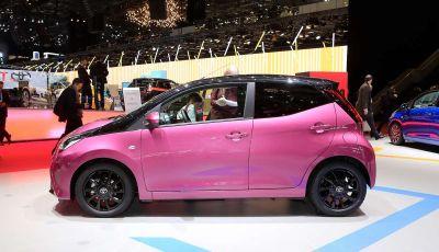 Nuova Toyota Aygo 2018, passi avanti in stile e tecnologia