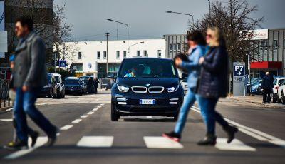BMW i3 2018, la nostra prova su strada della piccola bavarese