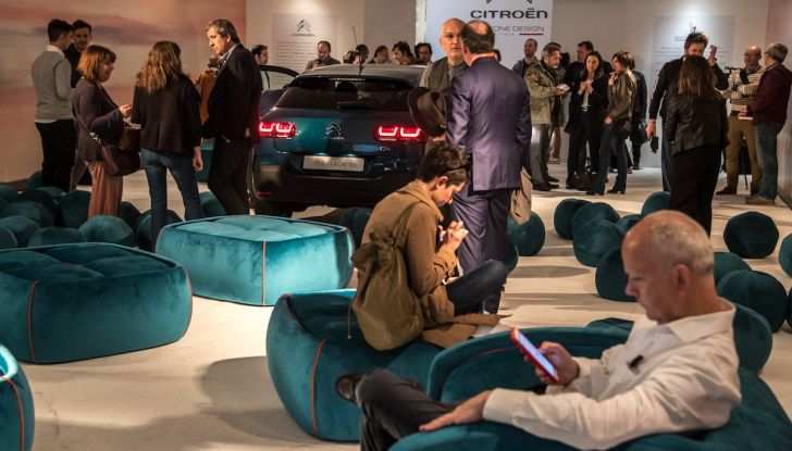 Nuova Citroen C4 Cactus protagonista alla Milano Design Week 2018 - Foto 10 di 30
