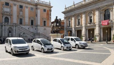 Quattro Citroen C-Zero e Berlingo elettriche per il Comune di Roma