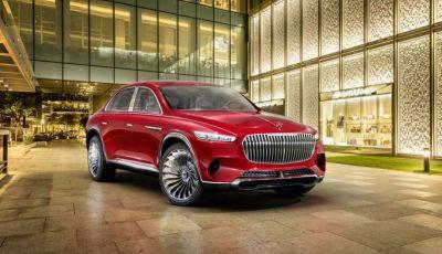 Vision Mercedes-Maybach Ultimate Luxury, il SUV di lusso dai materiali pregiati