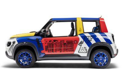 Art Car E-MEHARI: un'opera esclusiva per i 50 anni di Citroën Mehari