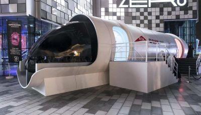 BMW Designworks e la capsula Hyperloop per viaggi di lusso
