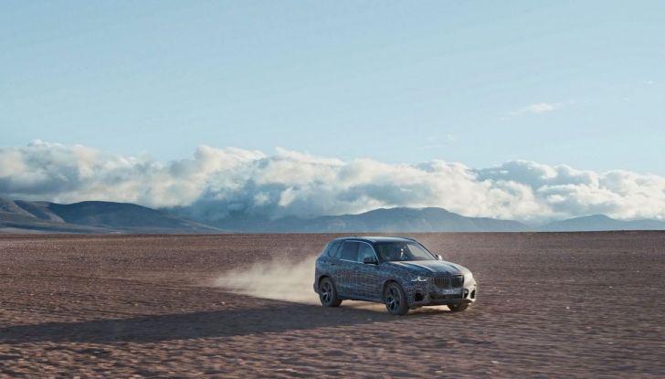 Nuova BMW X5: test e immagini ufficiali della nuova generazione - Foto 3 di 8