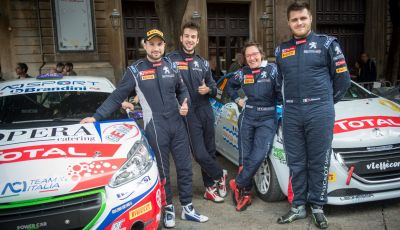 Peugeot Competition TOP 208 – Al Targa Florio vince Ciuffi