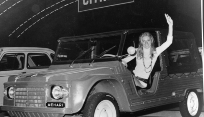 La Mehari: un'auto rivoluzionaria con materiali innovativi