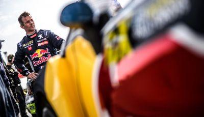Sebastien Loeb (Peugeot 208 WRX) soddisfatto del podio in UK