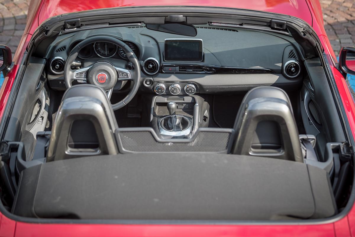 Fiat 124 Spider Capote dettaglio