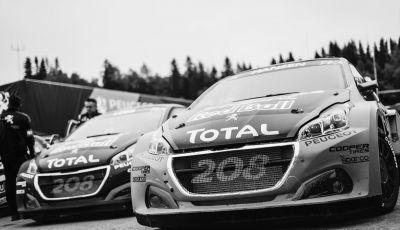 Mondiale Rallycross – In Svezia Peugeot porta interessanti sviluppi alla 208 WRX