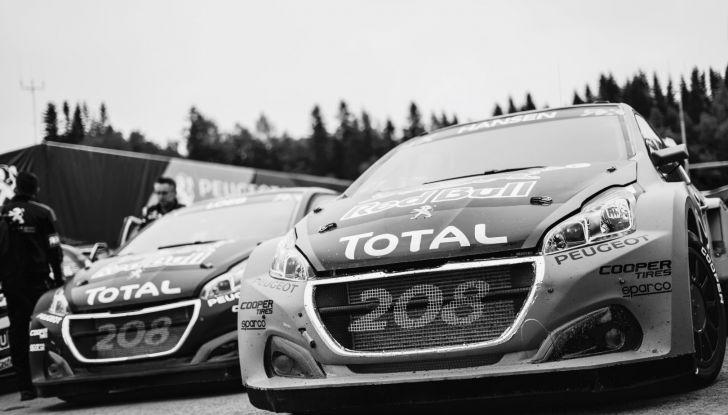 Mondiale Rallycross – In Svezia Peugeot porta interessanti sviluppi alla 208 WRX - Foto  di