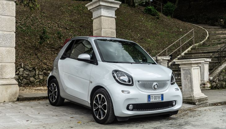 Prova Smart ForTwo Cabrio, la libertà della citycar per eccellenza - Foto 13 di 36