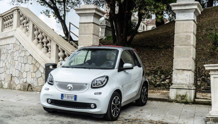 Prova Smart ForTwo Cabrio, la libertà della citycar per eccellenza - Foto 14 di 36