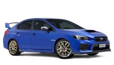 Subaru WRX STI Legendary Edition, versione speciale da 55 esemplari