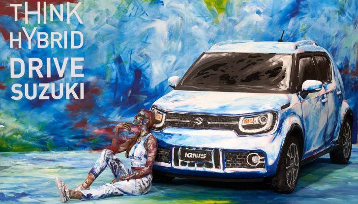 Suzuki Ignis Hybrid Art al Parco Valentino 2018 - Foto 3 di 6