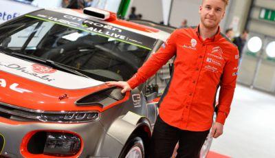 WRC Sardegna 2018: il ricordo di Mads Ostberg con Citroën nel 2014