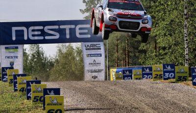 WRC2 di Finlandia: alto potenziale della Citroën C3 R5
