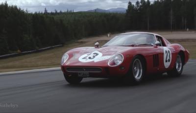 Ferrari 250 GTO del 1962: all'asta l'auto più costosa di tutti i tempi