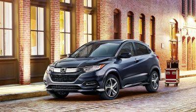 Nuova Honda HR-V 2019 Restyling: arrivano gli ADAS, addio al cambio manuale