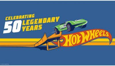 Hot Wheels compie 50 anni e festeggia con un Legends Tour