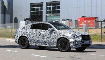 Nuova Mercedes GLE Coupè, test su strada della nuova generazione