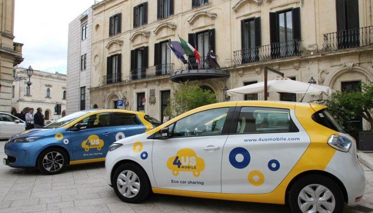 Renault ZOE per il primo car-sharing a flusso libero del Salento - Foto 6 di 6