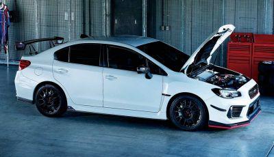 Subaru WRX STI Type RA-R, serie limitata da 500 esemplari