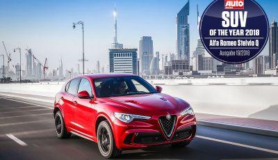 Alfa Romeo Stelvio Quadrifoglio è SUV dell'Anno in Germania