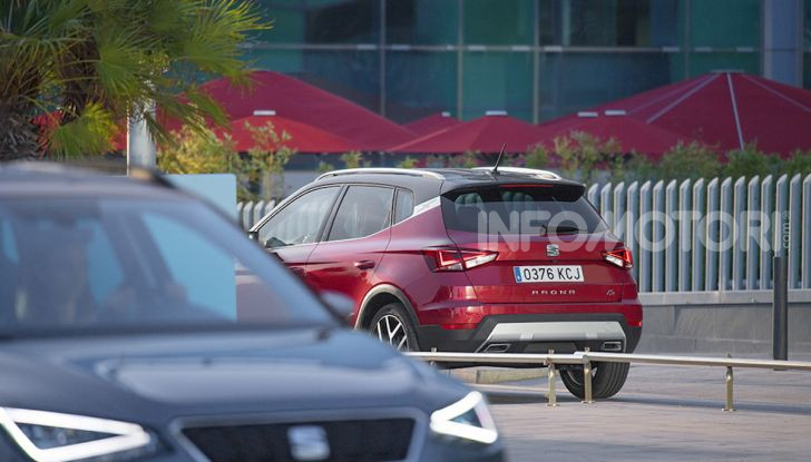 Nuova Seat Arona TGI: il primo SUV/Crossover a Metano - Foto 10 di 15