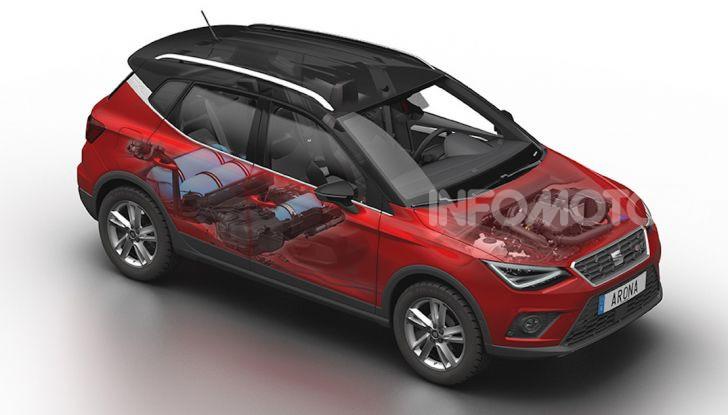 Nuova Seat Arona TGI: il primo SUV/Crossover a Metano - Foto 14 di 15