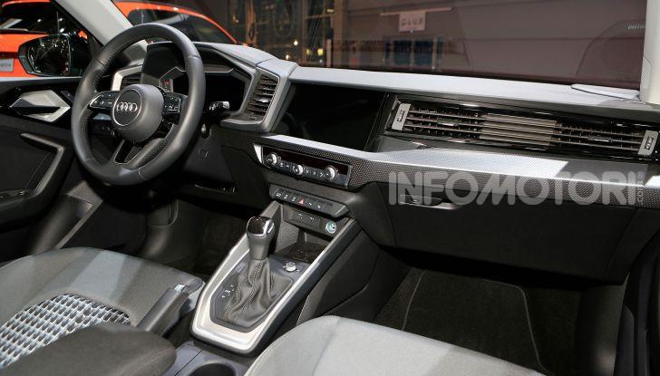 Nuova Audi A1 Sportback, listino prezzi e dotazioni - Foto 12 di 16