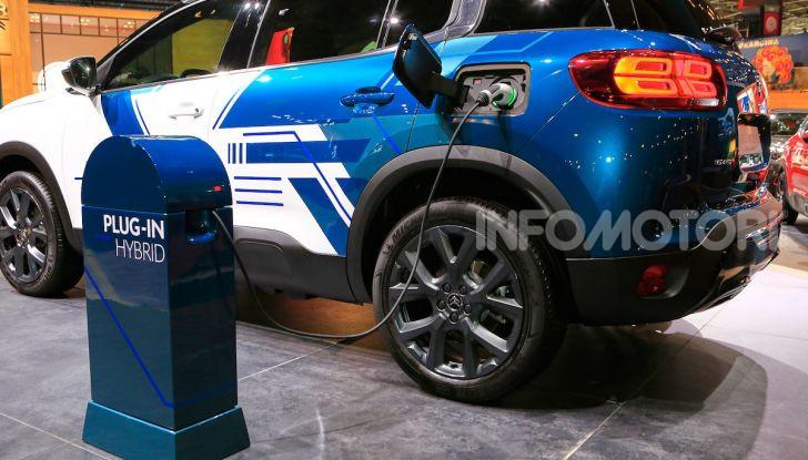 Citroen C5 Aircross Hybrid, debutta la concept ibrida - Foto 6 di 11