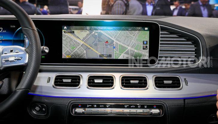 Mercedes-Benz GLE 2019: nuovi motori, tecnologia di riferimento e comfort superlativo - Foto 11 di 24