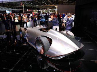 Mercedes Vision EQ Silver Arrow Concept