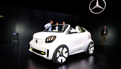 Smart forease, city car open air su base smart EQ fortwo cabrio