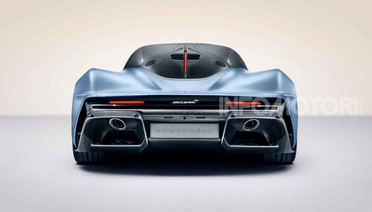 McLaren Speedtail, la hypercar da 391 km/h - Foto 10 di 16