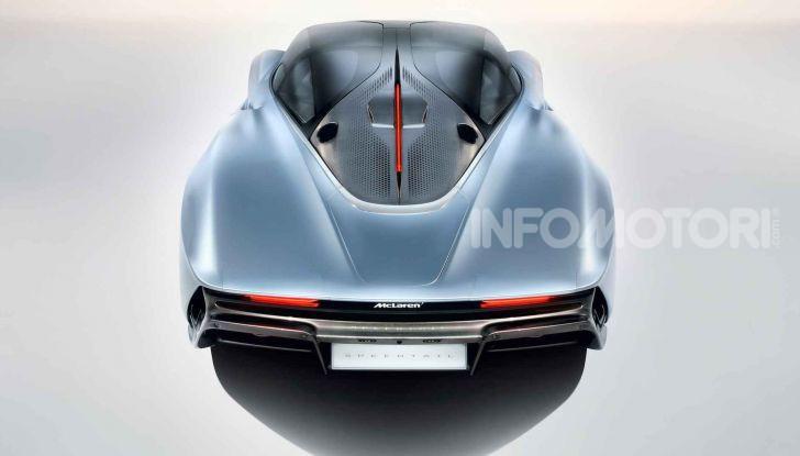 McLaren Speedtail, la hypercar da 391 km/h - Foto 4 di 16