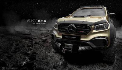 Mercedes Classe X 6×6 by Carlex