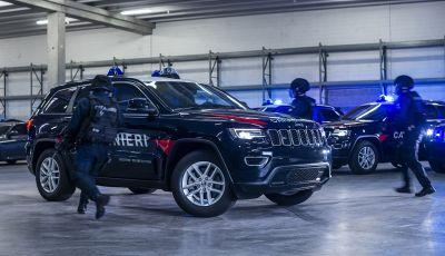 Jeep Grand Cherokee in dotazione all'Arma dei Carabinieri