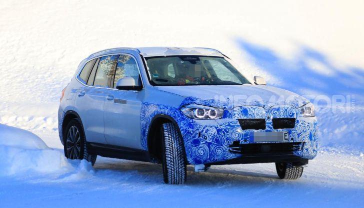 BMW iX3 2020: il SUV elettrico premium è Made in China - Foto 57 di 59