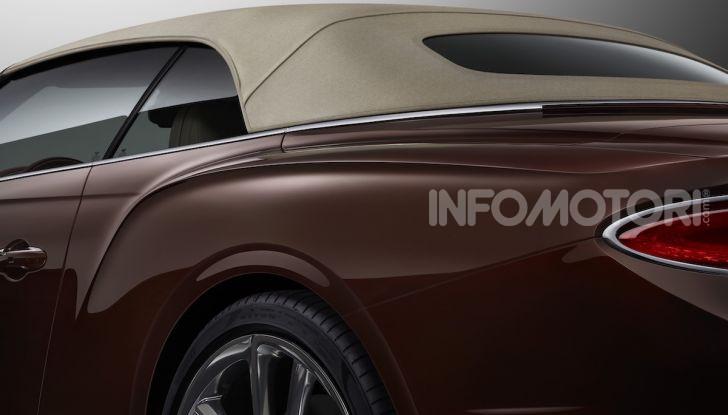 Bentley Continental GT Convertible 2019: lusso inglese allo scoperto - Foto 37 di 37