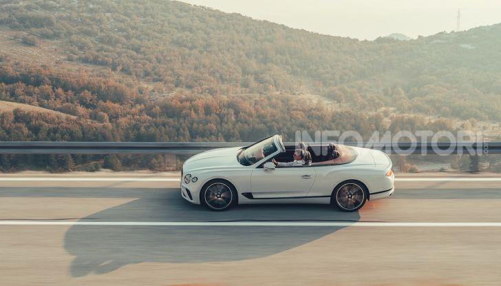 Bentley Continental GT Convertible 2019: lusso inglese allo scoperto - Foto 6 di 37