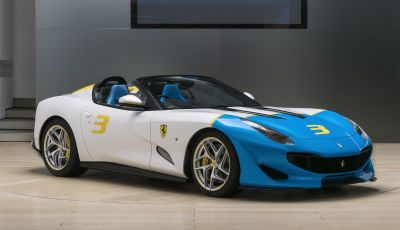 Ferrari SP3JC, la nuova roadster one-off