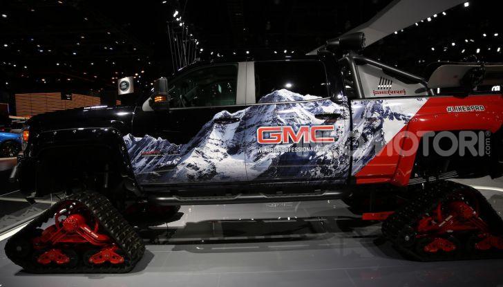 GMC al Los Angeles Auto Show 2018 – Le foto LIVE dal Salone - Foto 14 di 37