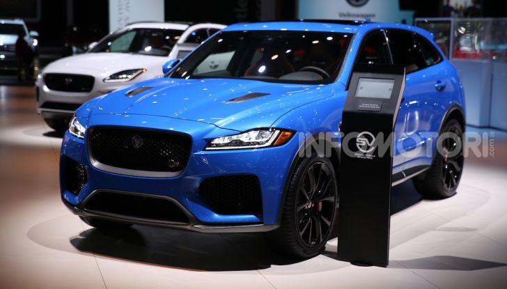 Jaguar Land Rover protagonista al Salone di Los Angeles 2018 - Foto 3 di 16