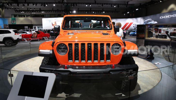 Tutto il meglio dello stand Jeep al Salone di Los Angeles 2018 - Foto 1 di 31