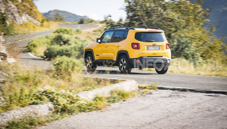 Jeep Renegade Trailhawk 2019: la nostra prova su strada - Foto 20 di 58