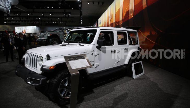 Tutto il meglio dello stand Jeep al Salone di Los Angeles 2018 - Foto 21 di 31