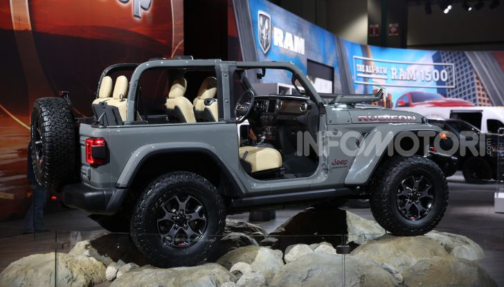 Tutto il meglio dello stand Jeep al Salone di Los Angeles 2018 - Foto 7 di 31
