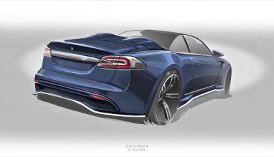Tesla Model S Roadster Ares Design, la nuova cabrio elettrica